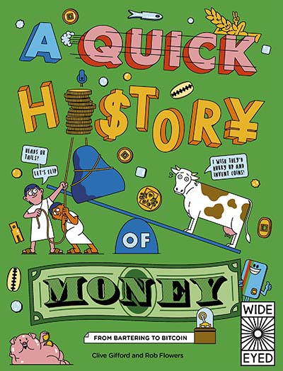A Quick History of Money - Jacket