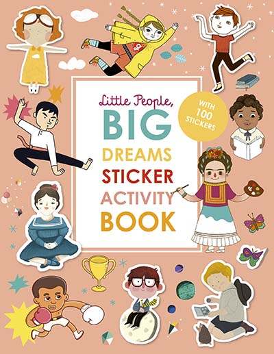 Little People, Big Dreams Sticker Activity Book - Jacket