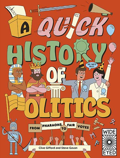 A Quick History of Politics - Jacket