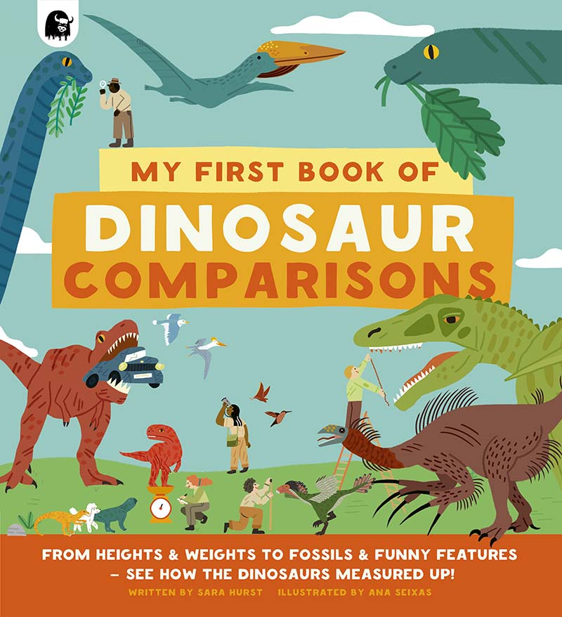 My First Book of Dinosaur Comparisons - Jacket