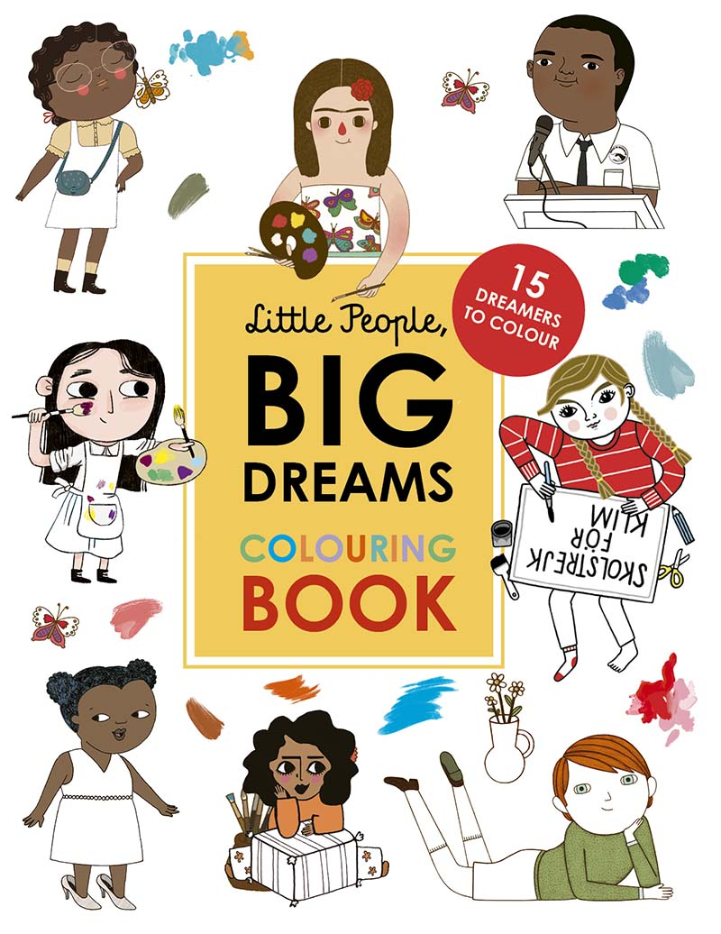 Little People, Big Dreams Colouring Book - Jacket