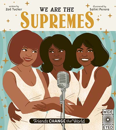 Friends Change the World: We Are The Supremes - Jacket