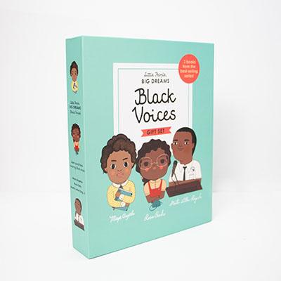 Little People, BIG DREAMS: Black Voices - Jacket