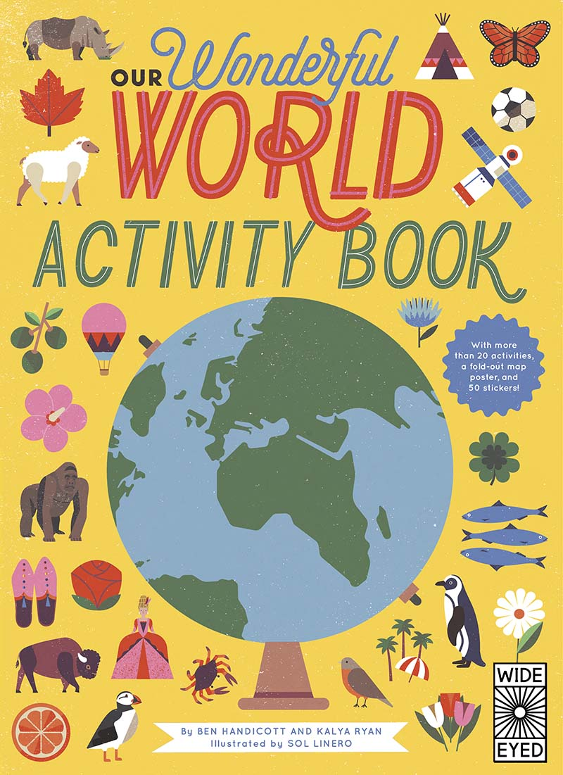 Our Wonderful World Activity Book - Jacket