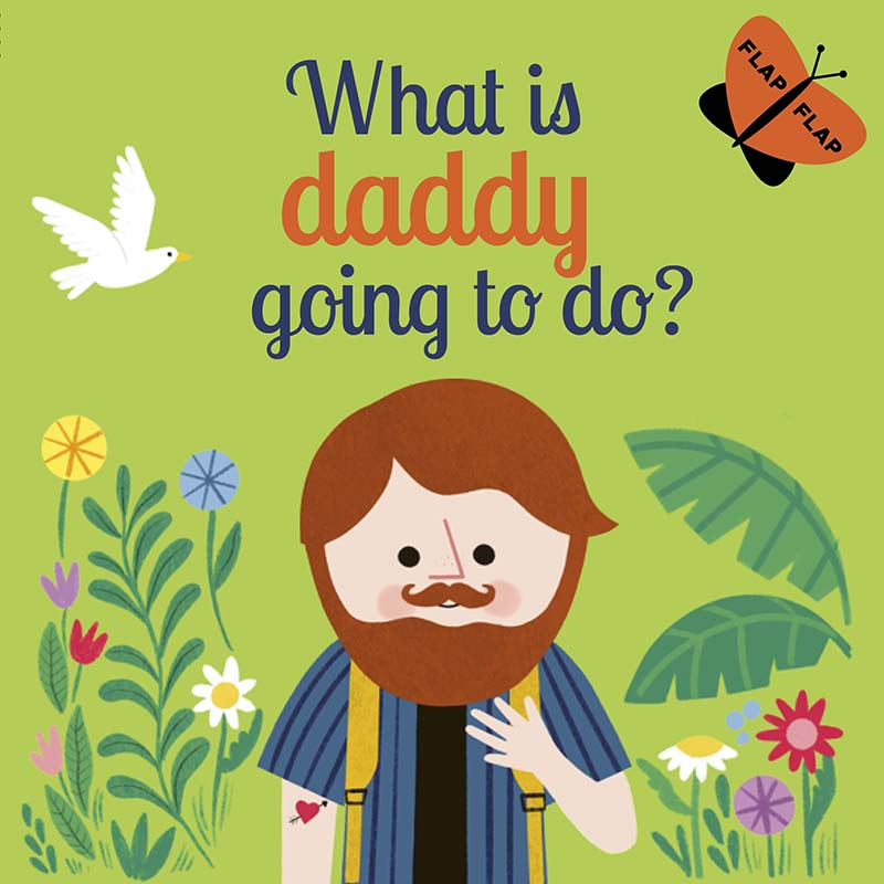 What is Daddy Going to Do? - Jacket