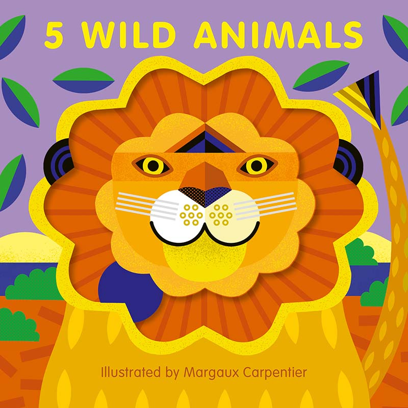5 Wild Animals - Jacket