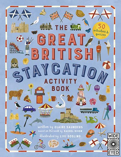 The Great British Staycation Activity Book - Jacket