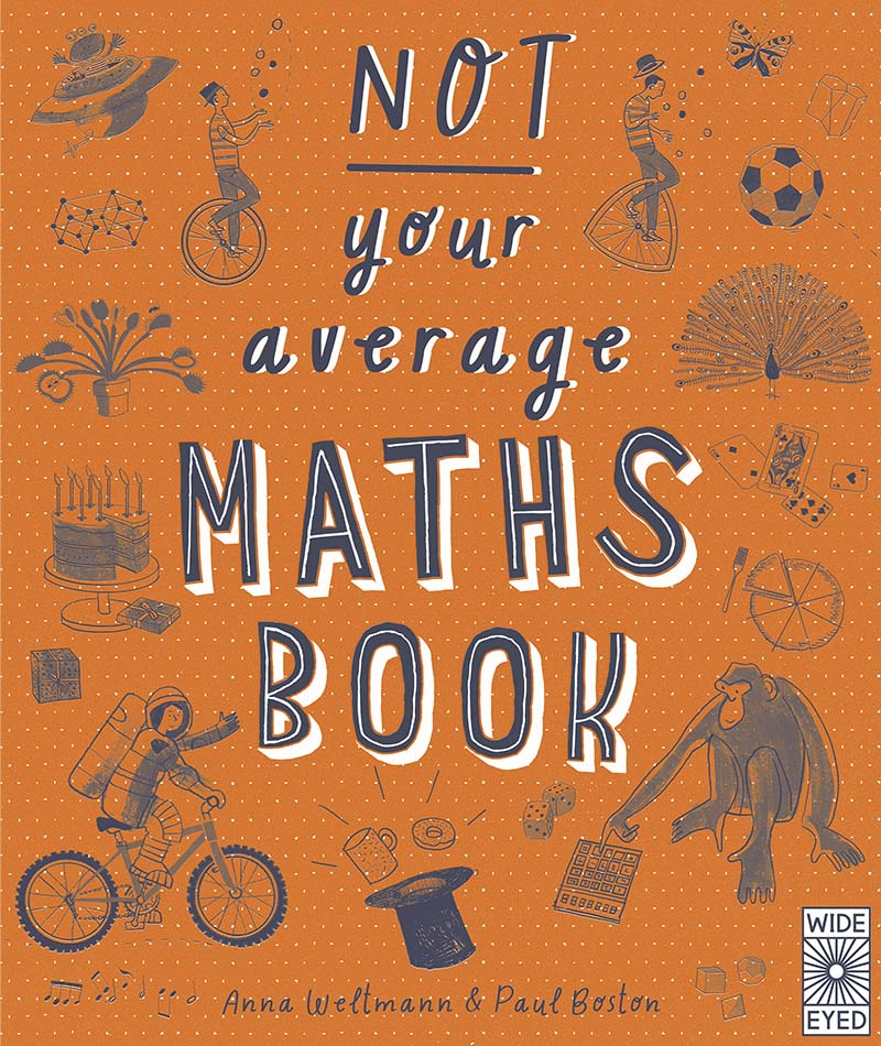 Not Your Average Maths Book - Jacket