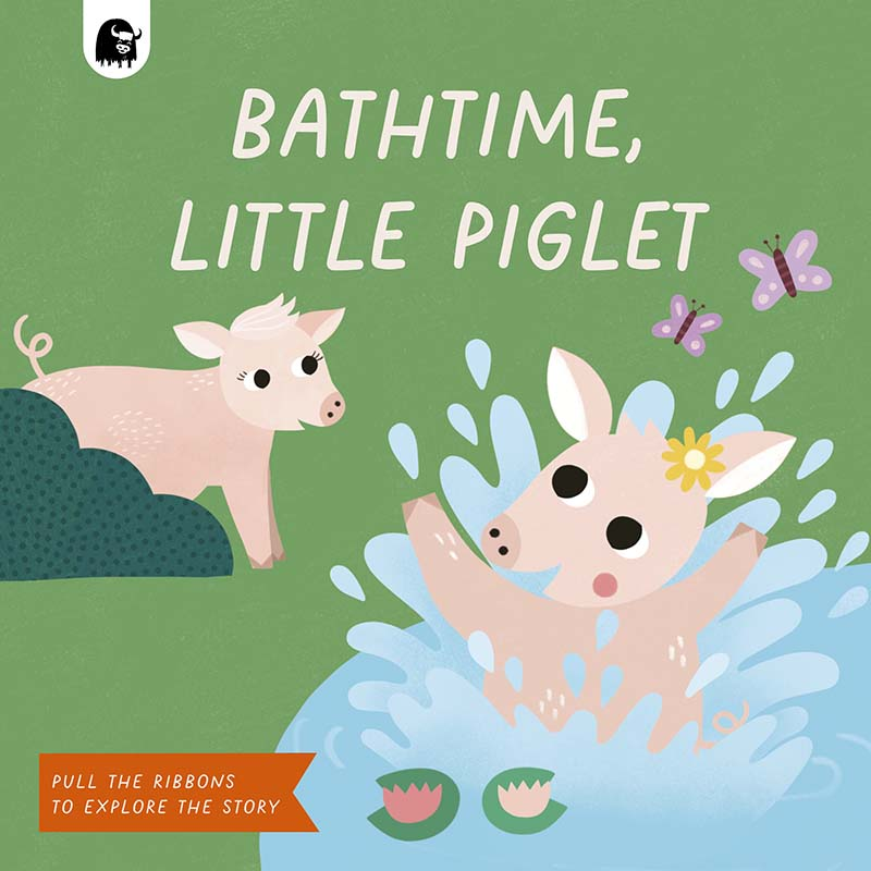 Bathtime, Little Piglet - Jacket