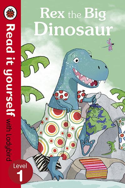 Rex the Big Dinosaur - Read it yourself with Ladybird - Jacket