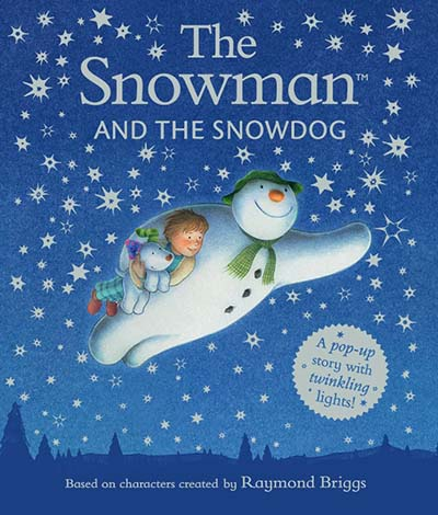 The Snowman and the Snowdog Pop-up Picture Book - Jacket