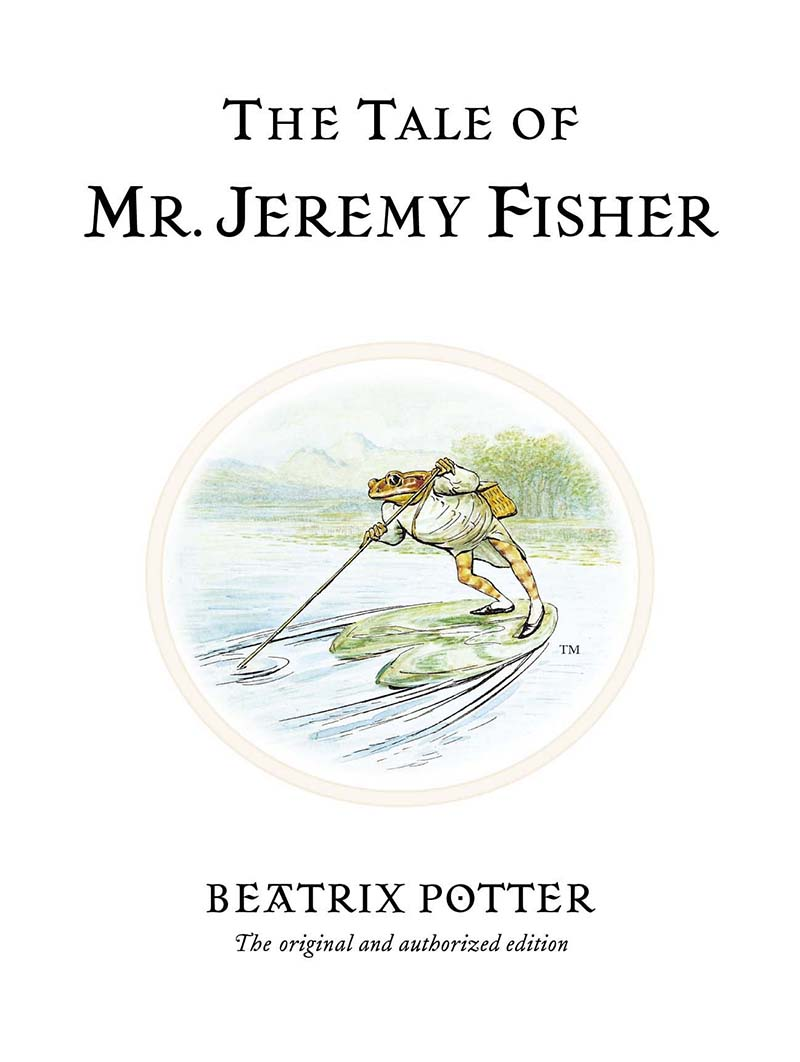 The Tale of Mr. Jeremy Fisher - Jacket