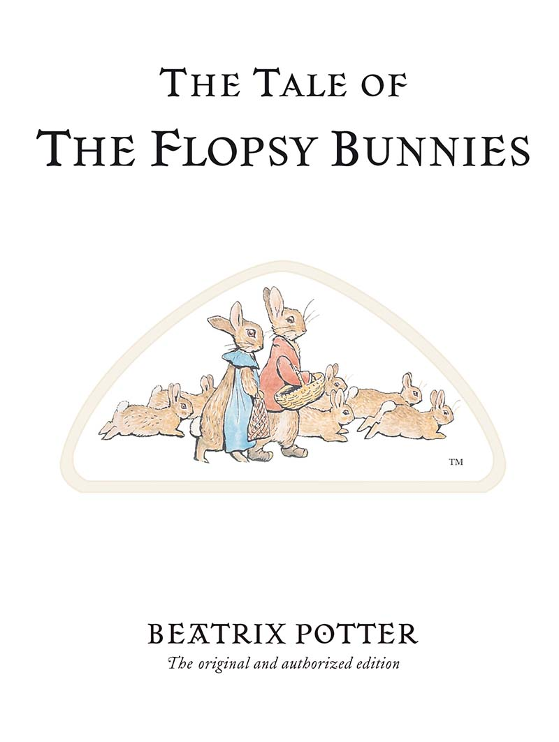 The Tale of The Flopsy Bunnies - Jacket