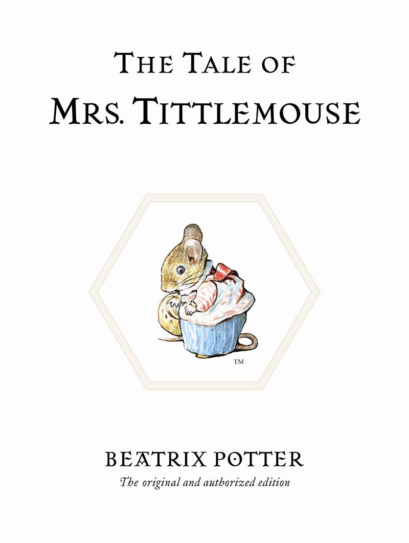 The Tale of Mrs. Tittlemouse - Jacket