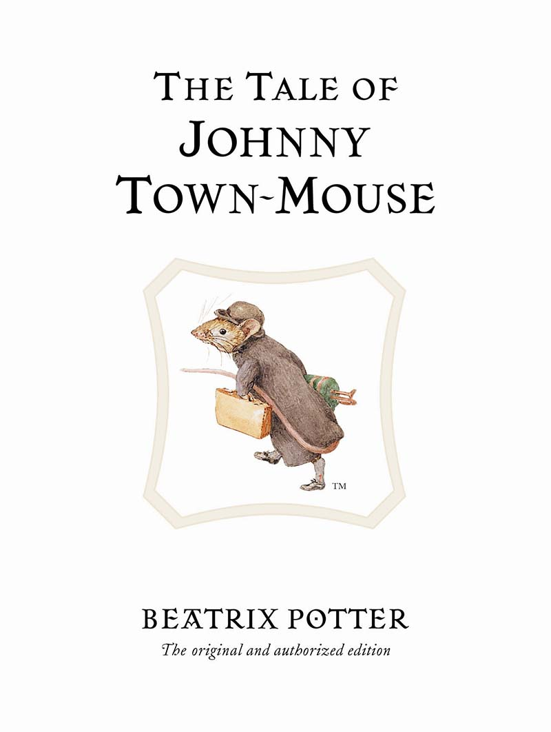 The Tale of Johnny Town-Mouse - Jacket