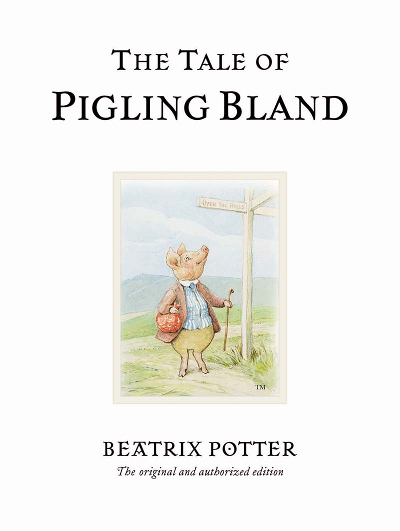 The Tale of Pigling Bland - Jacket