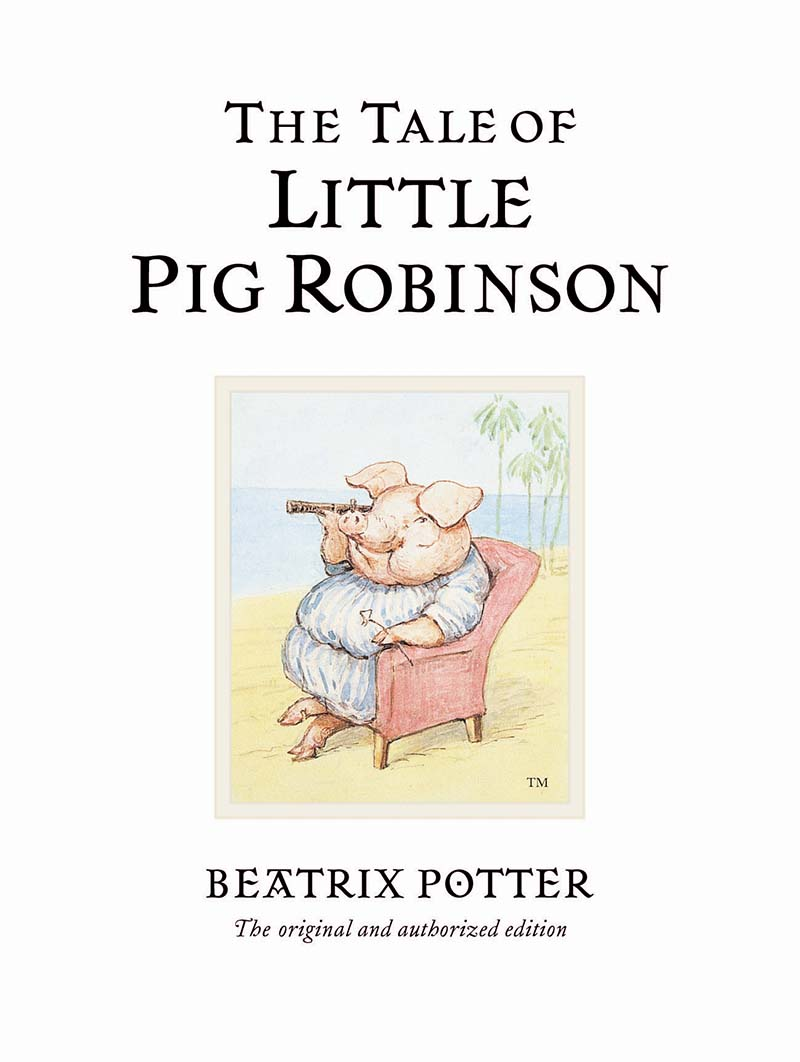 The Tale of Little Pig Robinson - Jacket