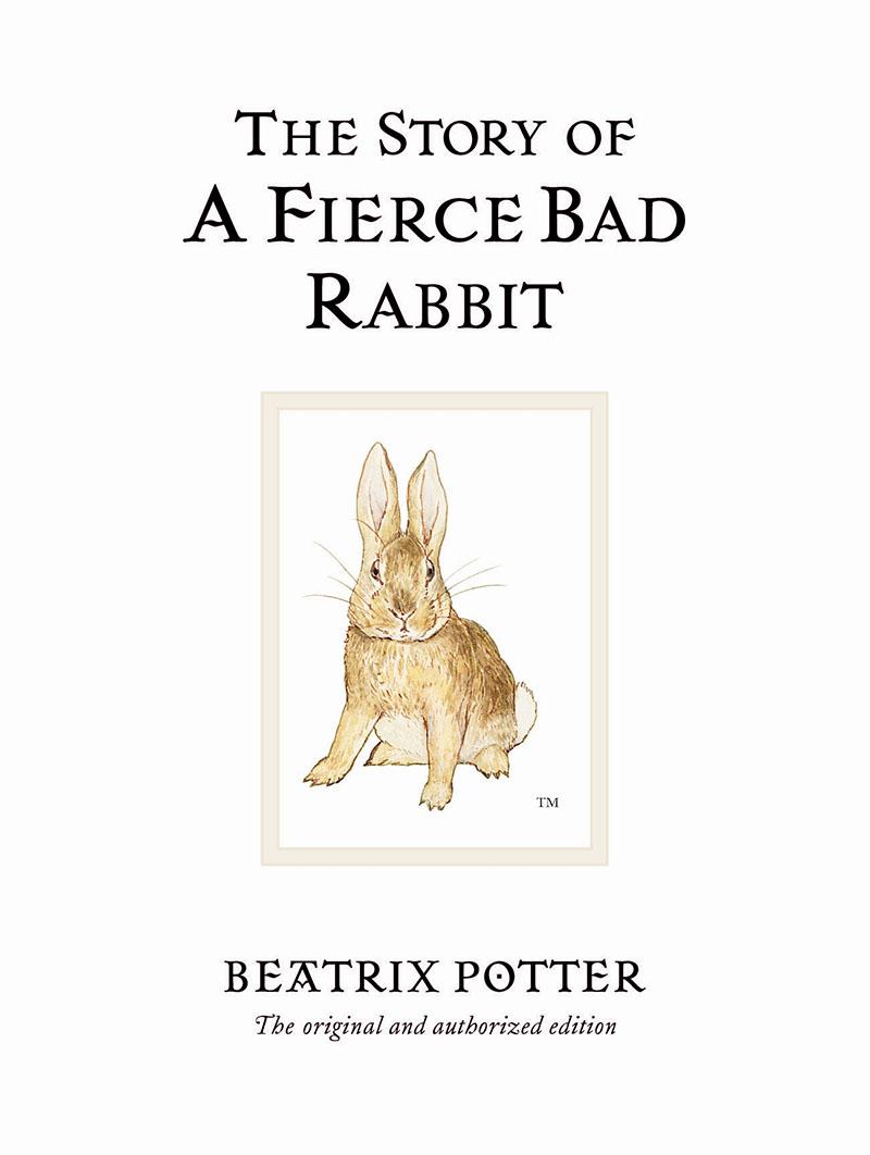The Story of A Fierce Bad Rabbit - Jacket