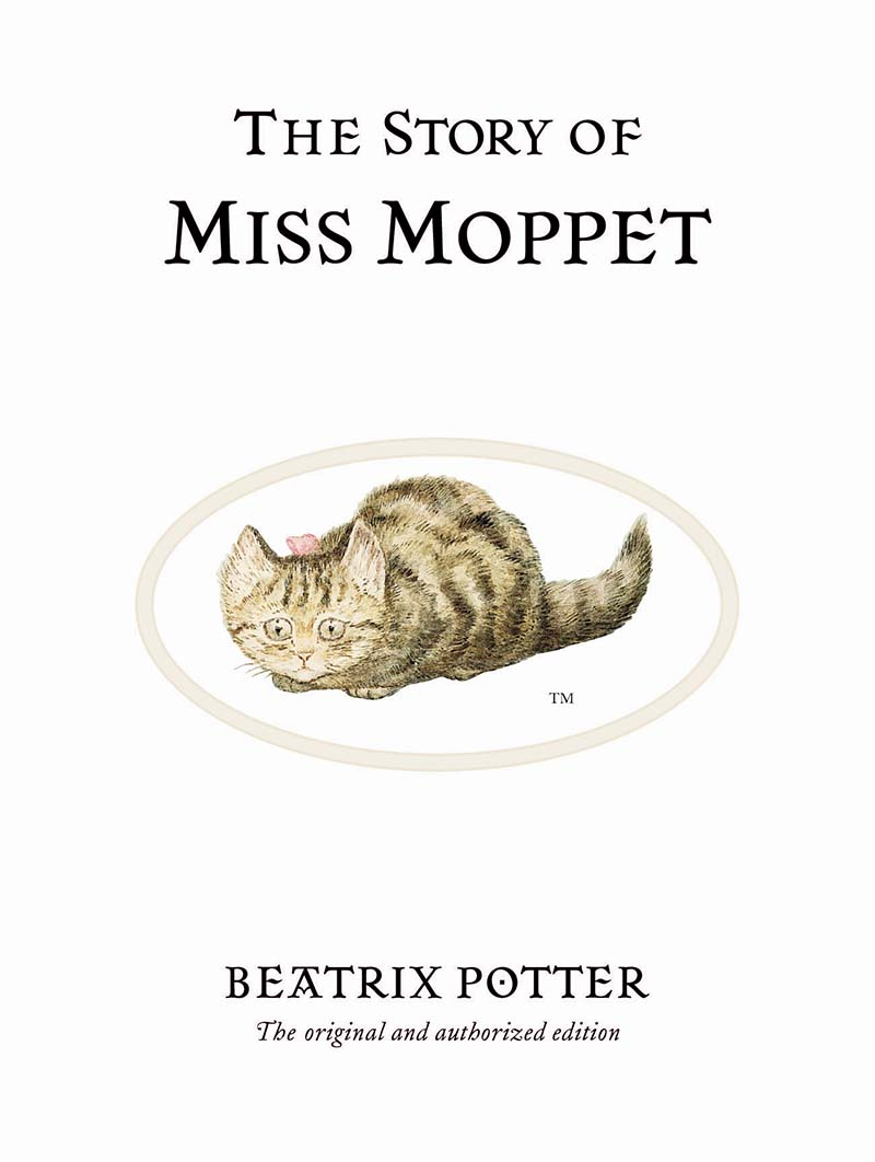 The Story of Miss Moppet - Jacket