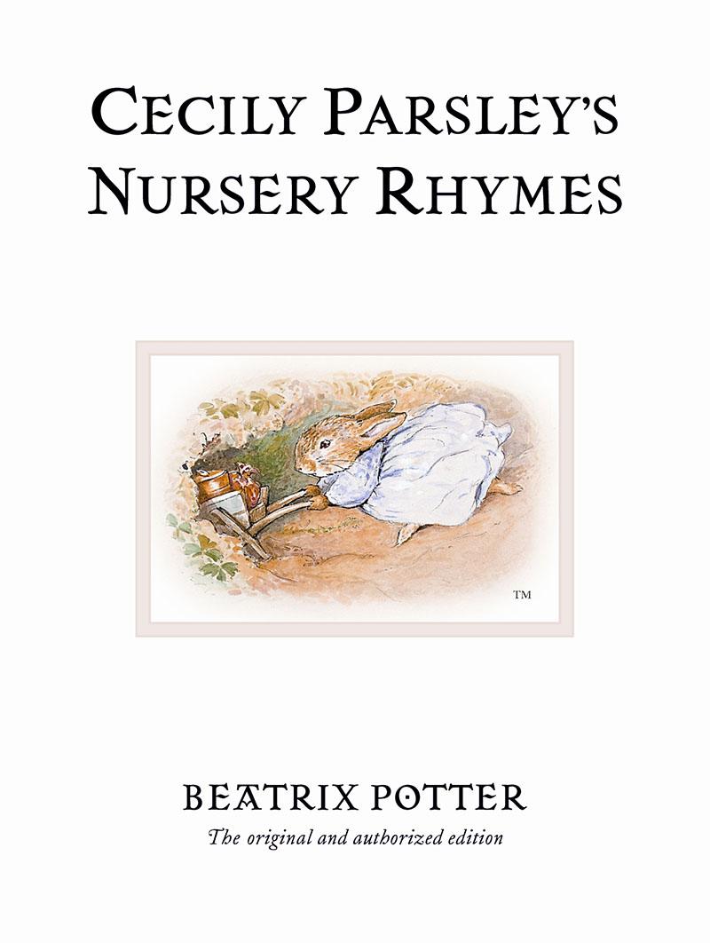 Cecily Parsley's Nursery Rhymes - Jacket