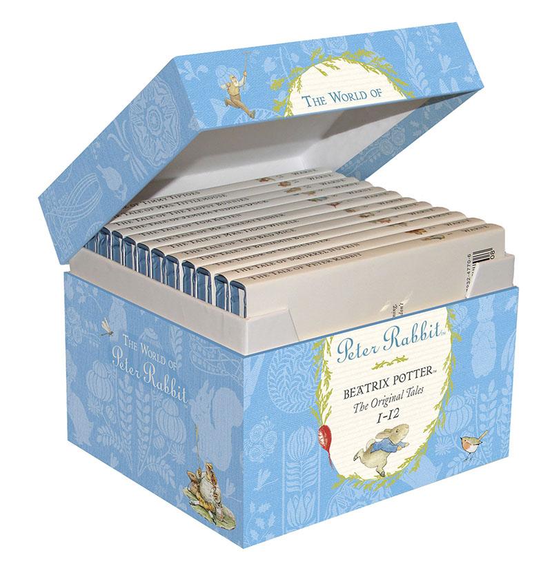 The World of Peter Rabbit 1-12 Gift Box - Jacket