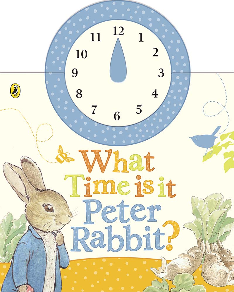What Time Is It, Peter Rabbit? - Jacket