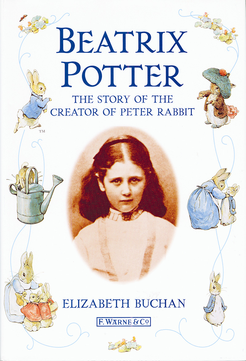 Beatrix Potter The Story of the Creator of Peter Rabbit - Jacket