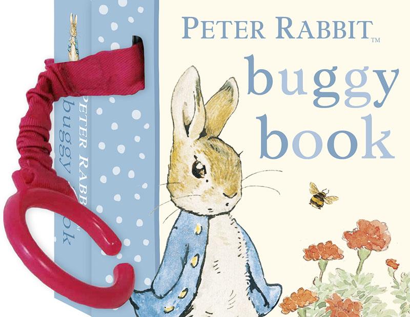 Peter Rabbit Buggy Book - Jacket