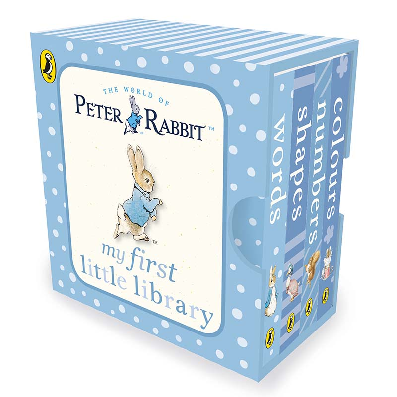 Peter Rabbit My First Little Library - Jacket