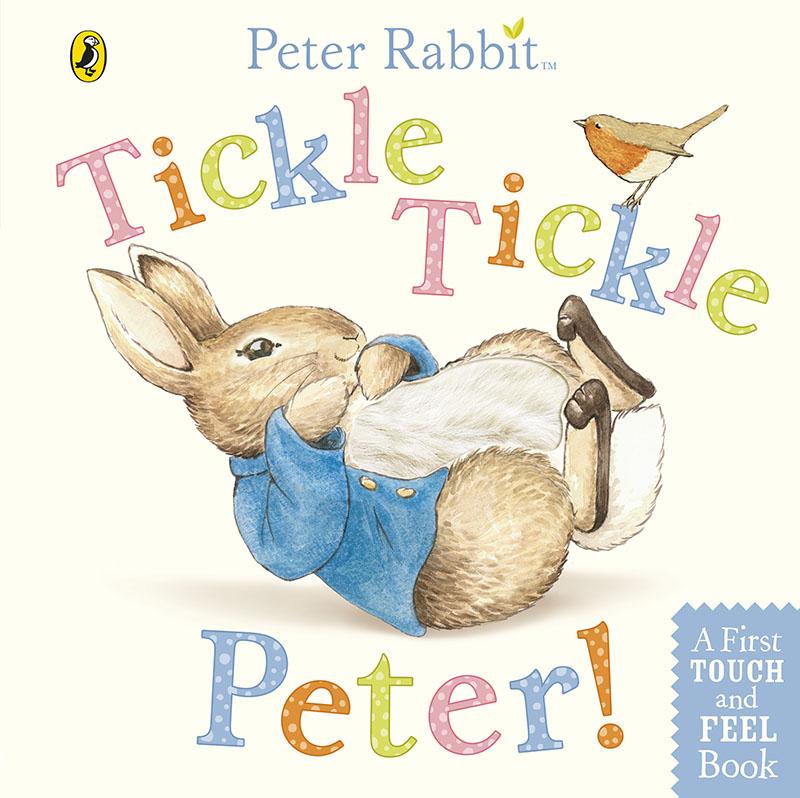 Peter Rabbit: Tickle Tickle Peter! - Jacket