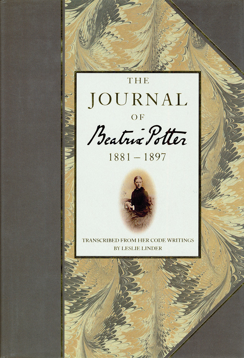 The Journal of Beatrix Potter from 1881 to 1897 - Jacket