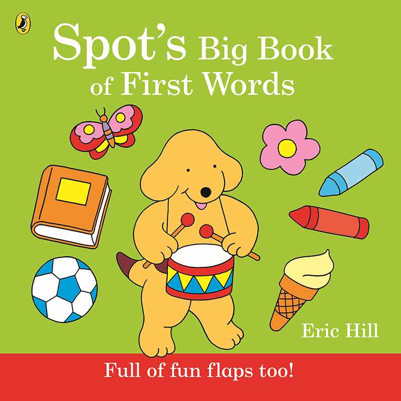 Spot's Big Book of First Words - Jacket
