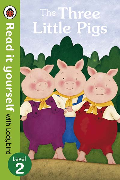 The Three Little Pigs -Read it yourself with Ladybird - Jacket