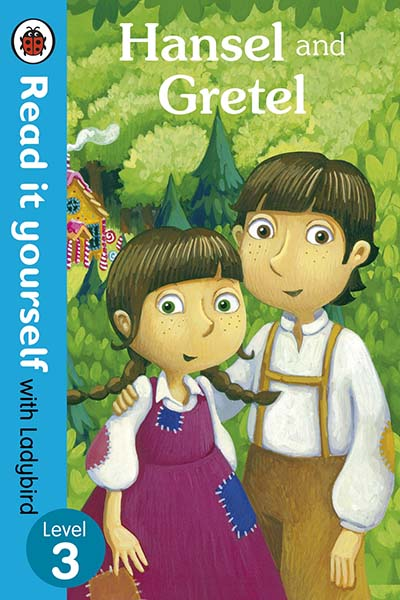 Hansel and Gretel - Read it yourself with Ladybird - Jacket