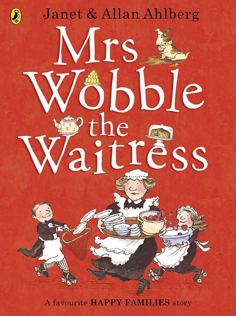 Mrs Wobble the Waitress - Jacket