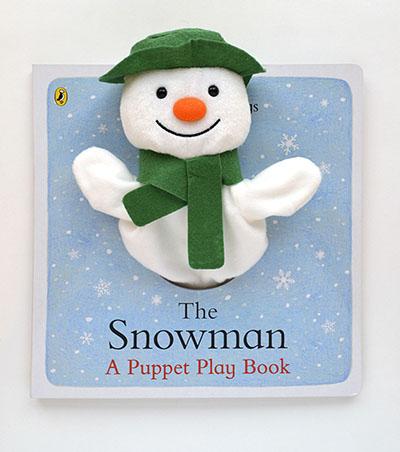 The Snowman: A Puppet Play Book - Jacket