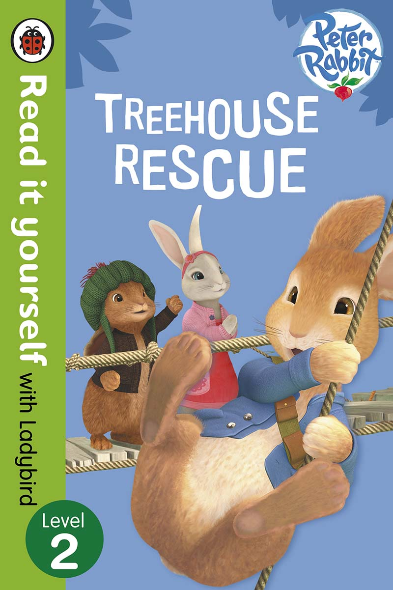 Peter Rabbit: Treehouse Rescue - Read it yourself with Ladybird - Jacket