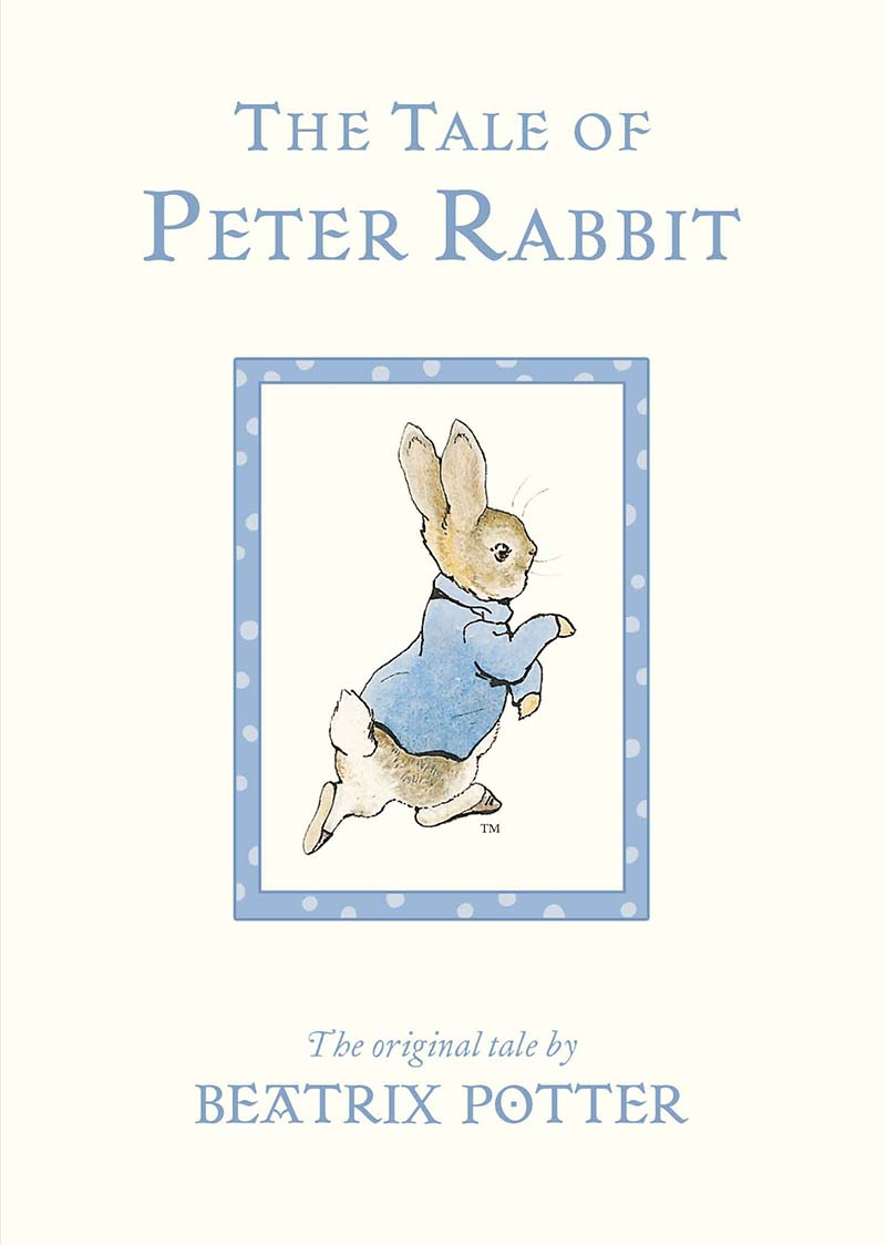 The Tale of Peter Rabbit Board Book - Jacket