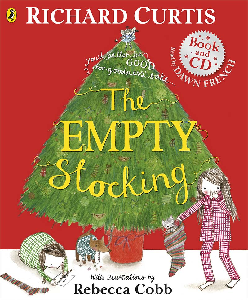The Empty Stocking book and CD - Jacket