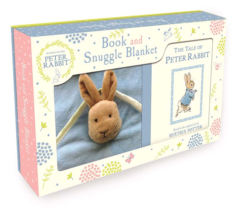Peter Rabbit Book and Snuggle Blanket - Jacket