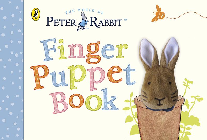 Peter Rabbit Finger Puppet Book - Jacket