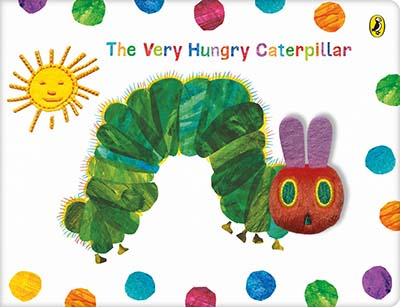 The Very Hungry Caterpillar Cloth Book - Jacket