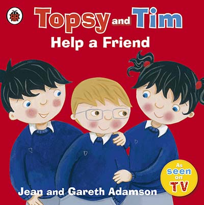 Topsy and Tim: Help a Friend - Jacket