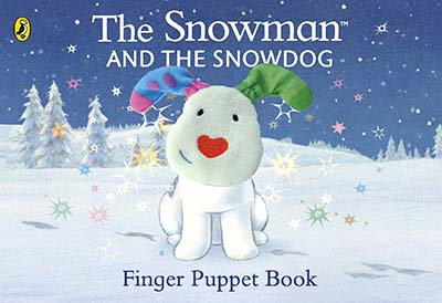 The Snowman and the Snowdog Finger Puppet Book - Jacket