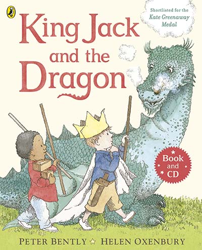 King Jack and the Dragon Book and CD - Jacket