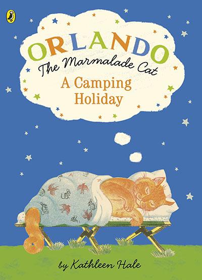 Orlando the Marmalade Cat: A Camping Holiday - Jacket