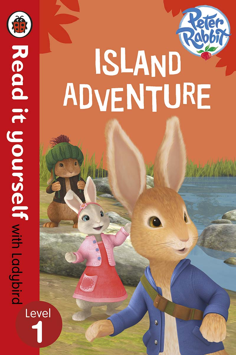 Peter Rabbit: Island Adventure - Read it yourself with Ladybird - Jacket
