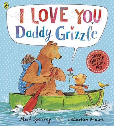 I Love You Daddy Grizzle - Jacket