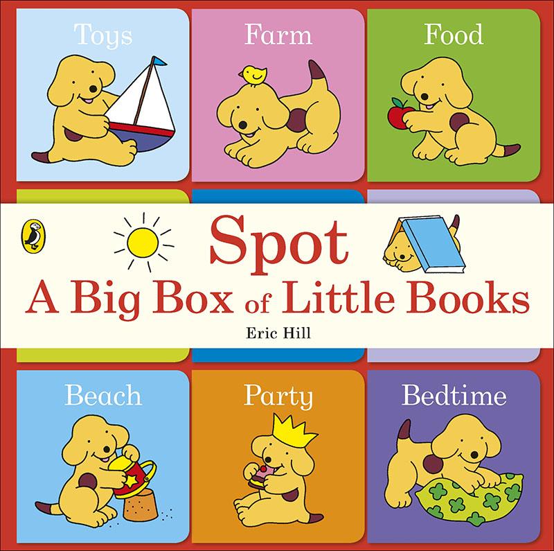 Spot: A Big Box of Little Books - Jacket
