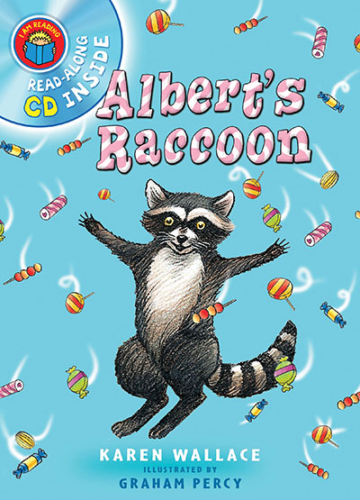 I Am Reading with CD: Albert's Raccoon - Jacket
